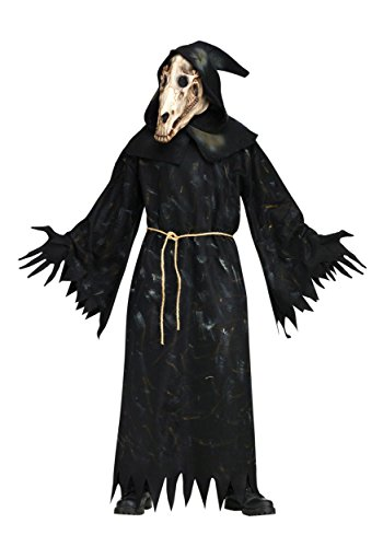 Fun World Men's Horse Skull Costume, black Standard]()