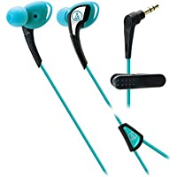 Audio-Technica ATH-SPORT2BL SonicSport In-Ear Headphones, Blue