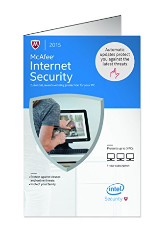 McAfee Internet Security 2015 PCs