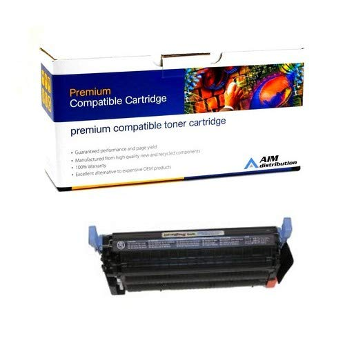 (AIM Compatible Replacement for HP Color Laserjet 4730MFP Black Toner Cartridge (12000 Page Yield) (NO. 644A) (Q6460AC) - Generic)