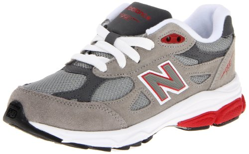 New Balance - unisex-child 990v3 Grade School Running Shoes