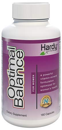 Women's Optimal Balance Micronutrients Multivitamin Mineral Supplement. Vitamins & Minerals for Women with Royal Jelly as a Hormone-Balancing Factor. Clinically Proven to Improve Sleep, Reduce Stress