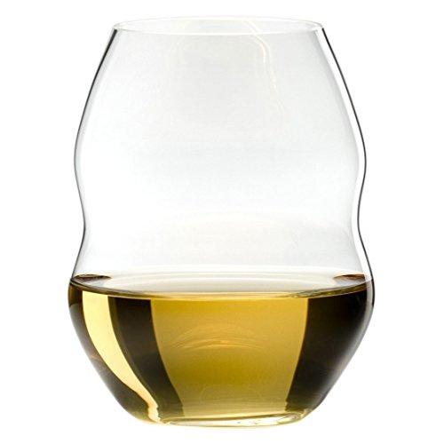(Riedel Swirl White Wine Glasses, Set of 4 )