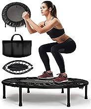 FITPULSE Mini Trampoline for Adults - Rebounder Trampoline Indoor Trampoline for Adults Small Trampoline Fitne