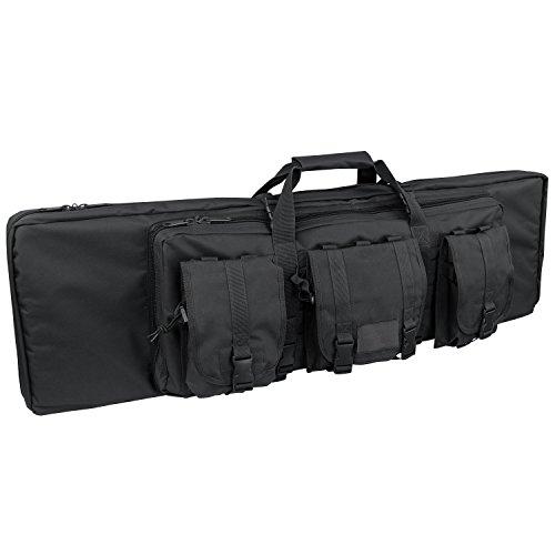 Condor Double Rifle Case (Black, 42 x 13 x 4.5-Inch)