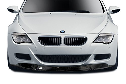 Aero Function Replacement for 2006-2010 BMW M6 E63 E64 Carbon AF-1 Front Lip Spoiler - 1 Piece - Front One Aero Lip