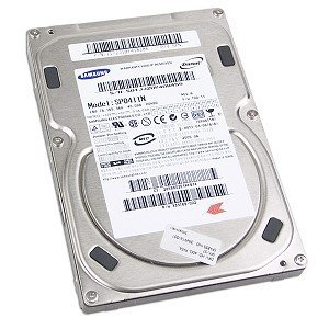 Samsung SpinPoint SP0411N 40GB UDMA/133 7200RPM 2MB IDE H...