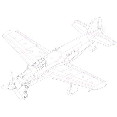 Hobby Boss Dornier Do335 Pfeil Easy Assembly Kit: Toys & Games