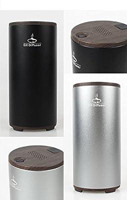 Kingta Portable New Car Home Office Breathe Fresh Ozone Air Purifier,Black