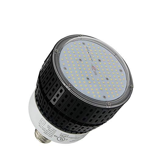 320W Metal Halide Replacement 80W LED High Bay Retrofit Bulb 5000K Daylight White E39 Mogul Base Garage Light Gym Warehouse Lamp (80)