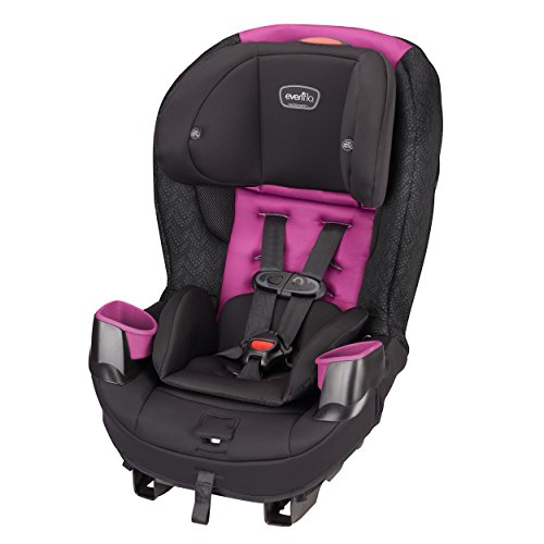 Reclining Seats Car (Evenflo Stratos 65 Convertible Car Seat, Pink Sunset)