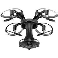 Hanbaili Mini Foldable Drone With Camera Live Video,Headless Mode/ Gravity Sense Control,Ball Shaped Quadcopter for Kids