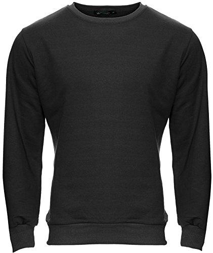 Col Foncé Et Rond Décontracté Sweater Pull 220 Gris Hommes Merish Modell Confortable EPSYnwq