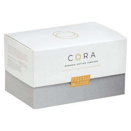 Cora Organic Cotton Tampons Mixed Pack - 36 Count