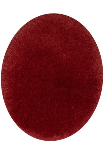 STAINMASTER TruSoft Luxurious Bath Toilet Lid Rug, Standard Lid, Cherry by Stainmaster