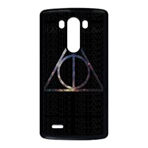 Protection Cover LG G3 Cell Phone Case Black Csvwe Deathly Hallows Personalized Durable Cases
