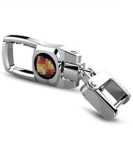 [해외]Porsche 헤비 듀티 키 체인 플립 카 키체인 / Feeke Car Keychain for Porsche Flip Heavy Duty Key Chain for Women Men