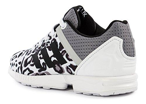 Adidas - Adidas Zx Flux Split K Scarpe Sportive Donna Bianche Tela S78735 Blanco