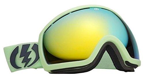 Electric Goggles Snowboard Eg2 (Allied Green (Bronze Gold Chrome) Electric Eg2 Mirrored Wide Angle Mens Ski Snowboard Goggles)