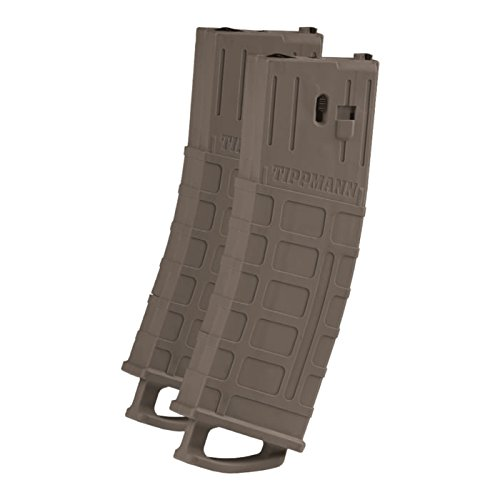 Tippmann TMC MAGFED Paintball Marker Magazines - 2 Pack