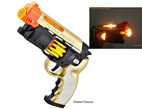 Futurama Halloween Special (Paradise Treasures Blade Runner Style Blaster Toy Pistol with Light and Sound with Orange Safety tip for Safe)