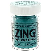 American Crafts Polvos de Embossing Zing Teal