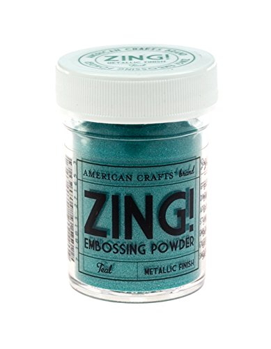 Zing! Metallic Embossing Powder 1-Ounce, Teal