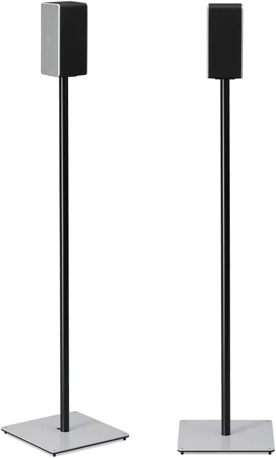 "SoundXtra Satellite Floor Stand for Vizio 36"" Soundbar 5.1 with Dolby Atmos - Black (Pair)"