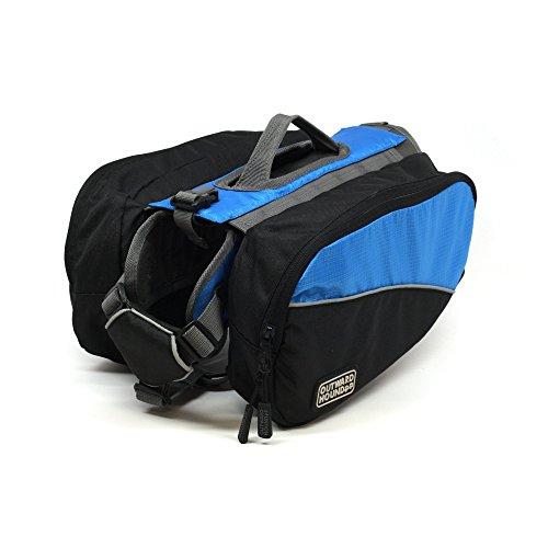 Outward Hound Kyjen 2498 Dog Backpack, Small, Blue