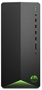 HP Pavilion Gaming Desktop Computer, AMD Ryzen 5 3500 Processor, NVIDIA GeForce GTX 1650 4 GB, 8 GB RAM, 512 GB SSD, Windows 10 Home (TG01-0030, Black)