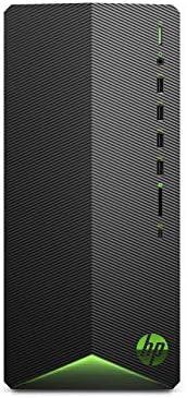 HP Pavilion Gaming Desktop Computer, AMD Ryzen 5 3500 Processor, NVIDIA GeForce GTX 1650 4 GB, 8 GB RAM, 512 GB SSD, Windows 10 Home (TG01-0030, Black)