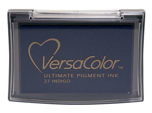 Tsukineko Full-Size VersaColor Ultimate Pigment Inkpad, Indigo