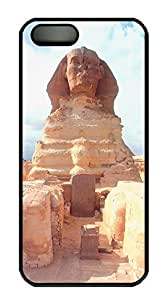 iPhone 5 5S Case Landscapes Sphinx PC Custom iPhone 5 5S Case Cover Black by Maris's Diary