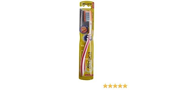 Binaca - Cepillo de dientes - medio - colores surtidos: Amazon.es: Salud y cuidado personal