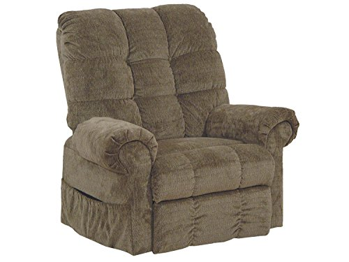 Catnapper Omni 4827 Power Full Lay-Out Large Heavy Duty Lift Chair Recliner 450 lb Capacity – Thistle