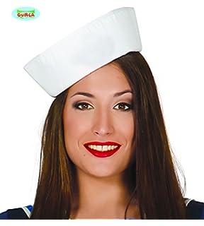 SATINIOR Sombreros de Marinero Banco Sombreros de Capitán Azul ...