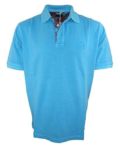 Baileys Polo Shirt in aqua Baumwolle Piqué Gr. XL und 4XL 115280-35