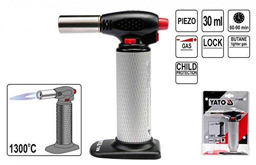 Gasbrenner, Heißbrenner, Gaslötlampe 1300°C für Butan, Bunsenbrenner