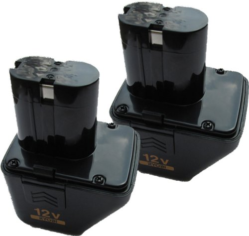 Ryobi CD125K Cordless Drill 12V Battery (2 Pack) # 4400005B-2pk by Ryobi