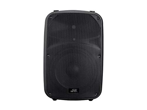 Monoprice Stage Right APS 12 400W 12-inch 2-Way Active PA System with 3-Channel Mixer 400 Watt 2 Way Pa