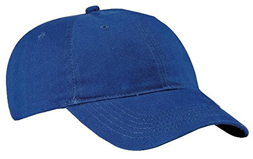 Port & Company - Brushed Twill Low Profile Cap. CP77 Royal OSFA