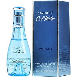 Cool Water By DAVIDOFF 1.0 oz Eau De Toilette Spray For Women