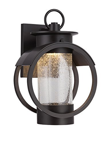 Designers Fountain LED32811-BNB Arbor 7 Inch Led Wall Lantern