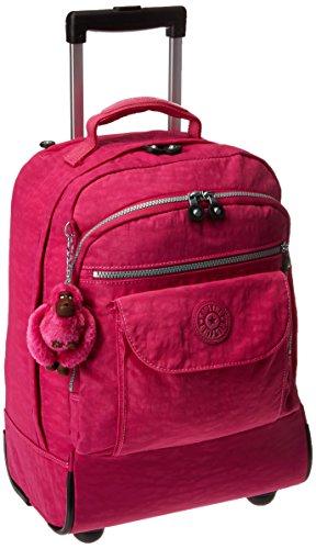 Kipling Sanaa Wheeled Backpack, Very Berry