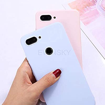 Amazon.com: Candy Color Silicone Phone Case for Xiaomi Mi A1 ...