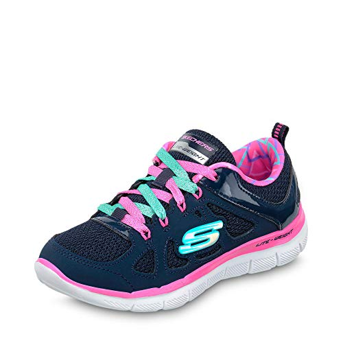 Pink Skech Appeal 0 2 Trainers Up Simplistic Lace Girls Skechers hot Shoes Navy RqZ7wxT
