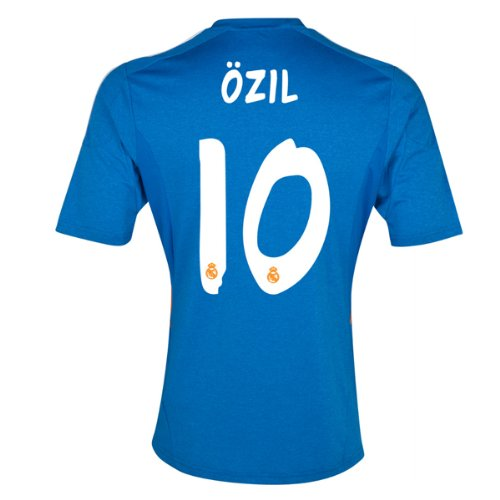 2013-14 Real Madrid Away Shirt (Ozil 10) - Kids