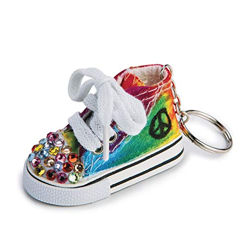 (S&S Worldwide Color-Me Sneaker Key Ring (makes 12))