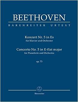 ベートーヴェン: ピアノ協奏曲 第5番 変ホ長調 Op.73 「皇帝」/原典版/デル・マー編/ベーレンライター社: 中型スタディ・スコア