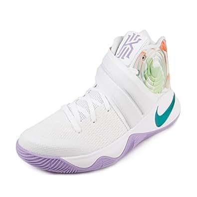 """Amazon Nike Mens Kyrie 2 """"Easter"""" White Hyper Jade"""